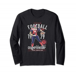American Football Cotton Printed T-Shirt Full Sleeve