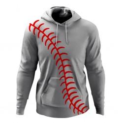 Baseball Fleece Hoodie