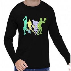 Basket Ball Full Sleeve Cotton T-Shirt