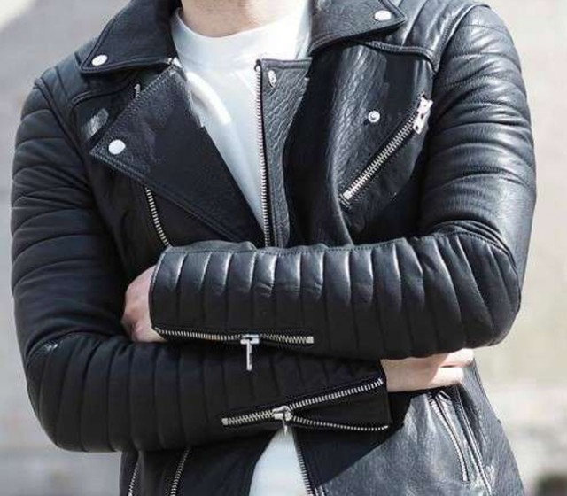 Leather Jackets Men's