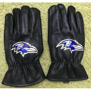 NFL Winter Gloves For Sale Custom Baltimore Ravens Cheap For Fans