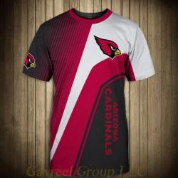 NFL T-shirts Cheap 3D Custom Arizona Cardinals T-shirts For Sale